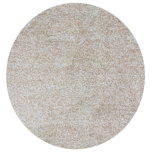 Foran Hand-Woven Heather Shag Ivory Area Rug by Wrought Studio