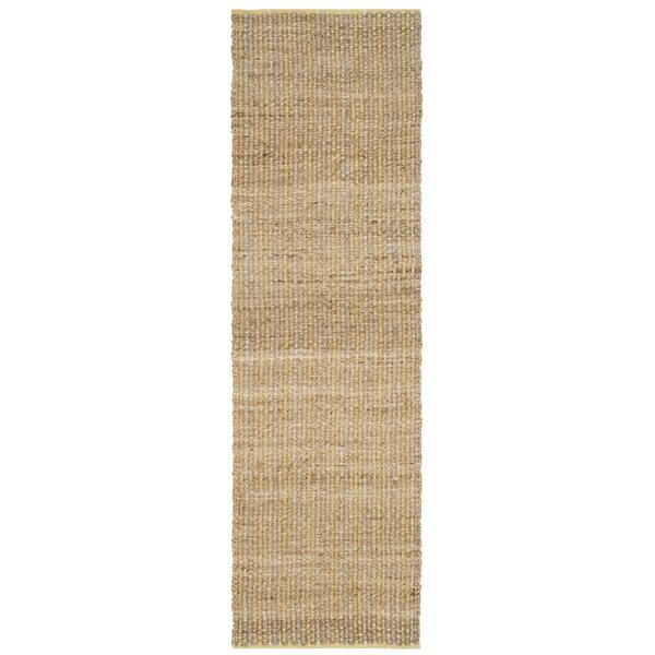 Zap Hand-Woven Beige Area Rug by August Grove