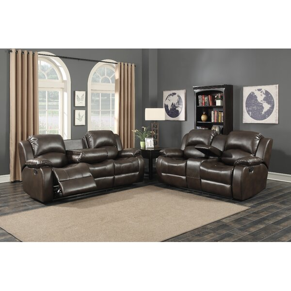 Samara Reclining 2 Piece Living Room Set by AC Pacific