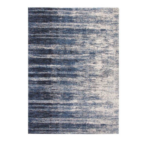 Teasley Blue/Ivory Indoor Area Rug by Brayden Studio