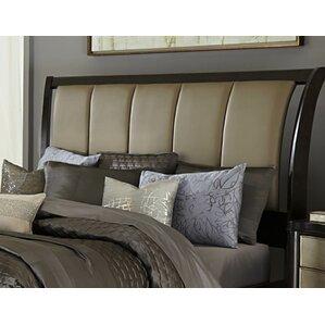 Barresi Upholstered Sleigh Headboard by House of Hampton