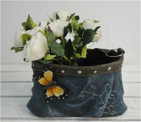 Bersani Polyresin Skirt with Strap Pot Planter by August Grove