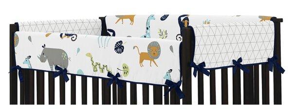 Mod Jungle Crib Rail Guard Cover (Set of 2) by Sweet Jojo Designs