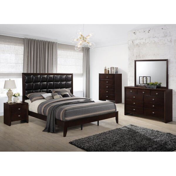 #1 Willenhall Platform 5 Piece Bedroom Set By Ebern Designs Cheap