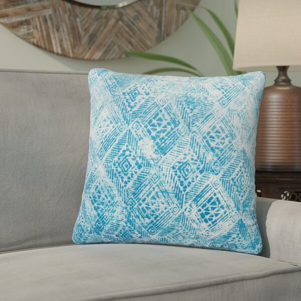 Azucena Outdoor Throw Pillow by Bungalow Rose
