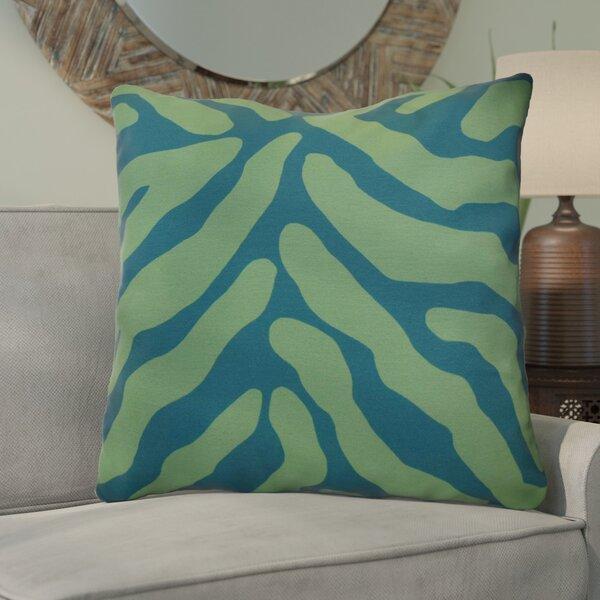 Kam Animal Striped Geometric Euro Pillow by Bloomsbury Market
