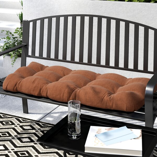 Indoor/Outdoor Loveseat Cushion by Zipcode Design