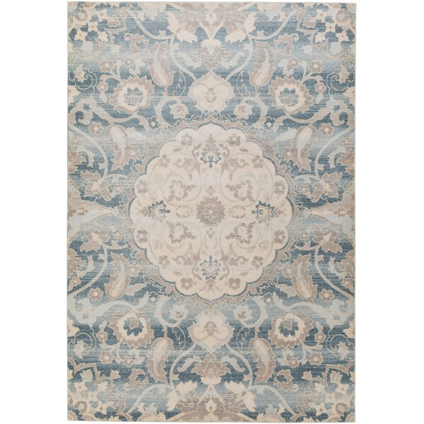 Kershaw Multi-Colored Area Rug by Ophelia & Co.