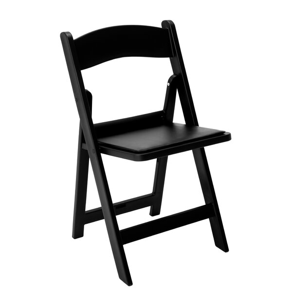 Vinyl Padded Folding Chair Set Of 4 By Lone Star Chairs.