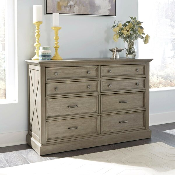 Darin Lodge 8 Drawer Double Dresser by Gracie Oaks