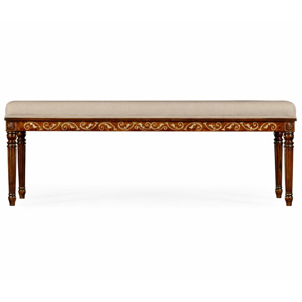 Duchess Upholstered Bench by Jonathan Charles Fine Furniture
