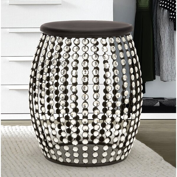 Beaded Stool by Cole & Grey