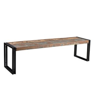 Leah Wood Bench by Millwood Pines