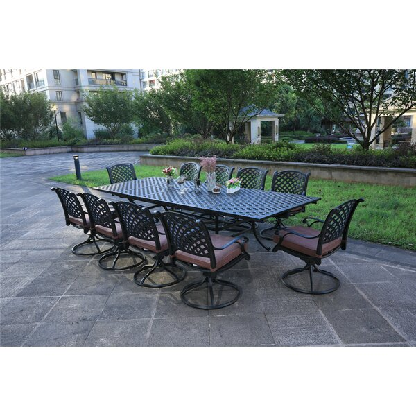 Ballance Aluminum 11 Piece Dining Set With Cushions By Canora Grey by Canora Grey Looking for