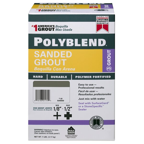 Polyblend Sanded Grout by Custom Building Products