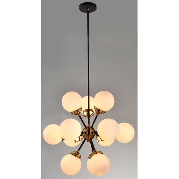 Beckles 12-Light Sputnik Sphere Chandelier by Wrought Studio Wrought Studio