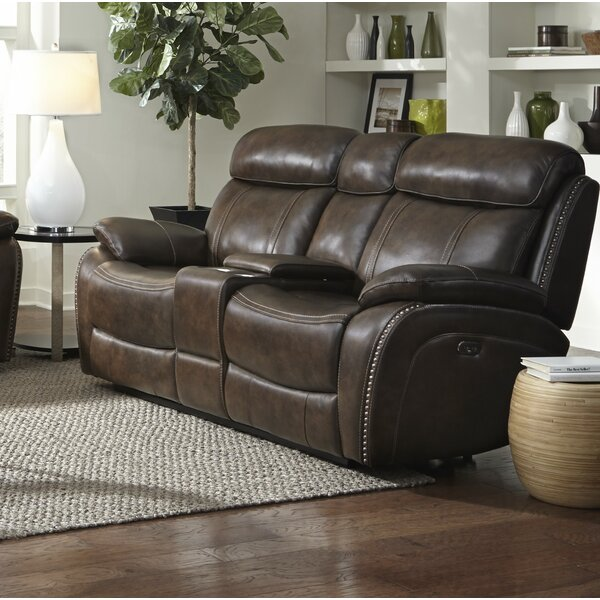 Top Recommend Kenosha Reclining Loveseat by Red Barrel Studio by Red Barrel Studio