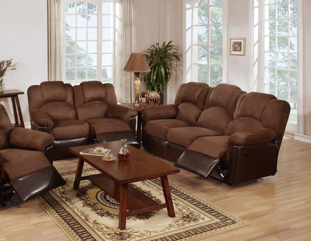 Reclining Living Room Sets You\'ll Love