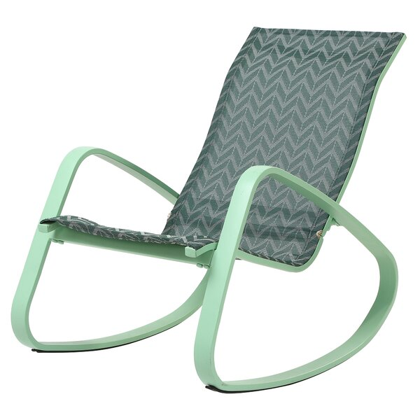 Bissett Porch Deck Patio Rocking Chair by Wrought Studio