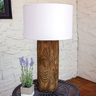 Order Penton Nature-Inspired Log Polyresin 26 Desk Lamp By Union Rustic