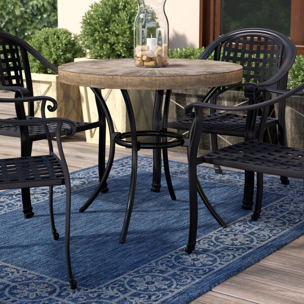 Birrell Bistro Table by World Menagerie