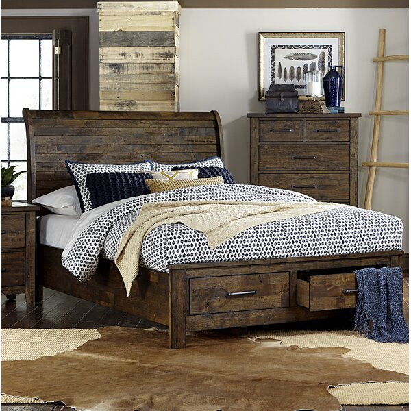 Amey Queen Storage Platform Bed by Foundry Select