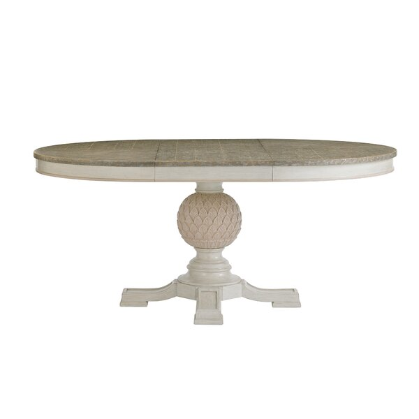 Preserve Artichoke Pedestal Extendable Dining Table by Stanley Furniture