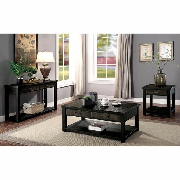 Gillespie 3 Piece Coffee Table Set By Canora Grey