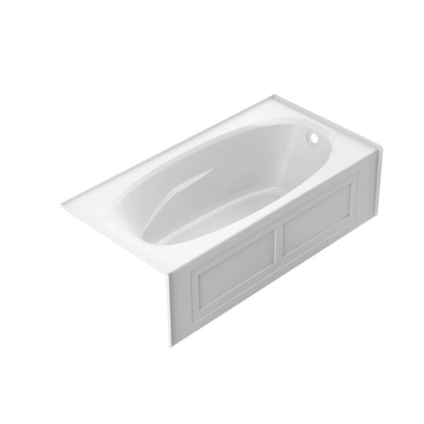 Amiga 72 x 36 Skirted Soaking Bathtub by Jacuzzi®