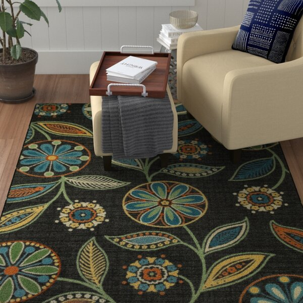 Adderley Radiant Gray/Stone Green Area rug by Winston Porter