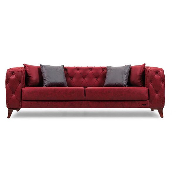 Cute Style Yousef Sofa by Everly Quinn by Everly Quinn