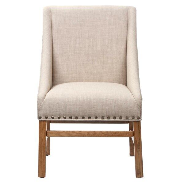 Haverhill Wooden Armchair by Gracie Oaks