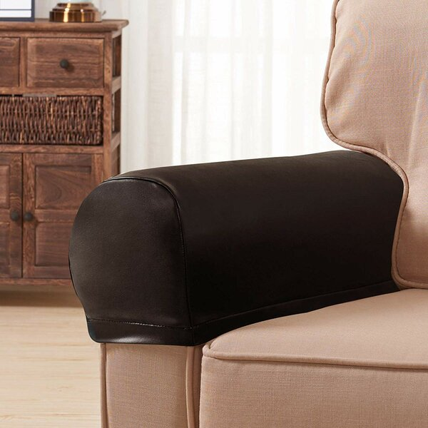 Stretch Armrest Slipcover (Set of 2) by Symple Stuff
