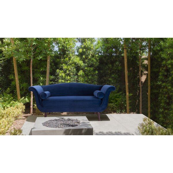 Find Out The New Mariah Camelback Settee by Rosdorf Park by Rosdorf Park