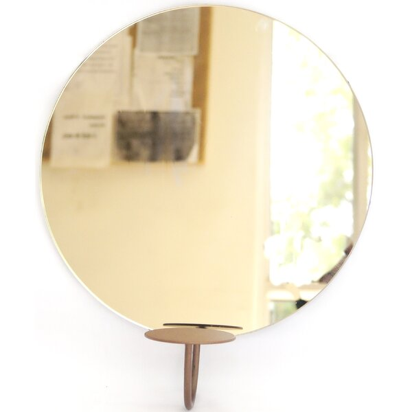 Candleholder Accent Mirror by BIDKhome