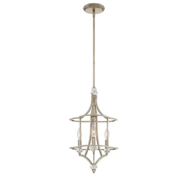 Palmisano 3-Light Candle Style Chandelier by Eurofase