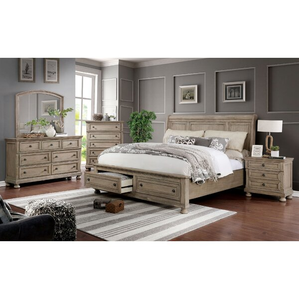 Ballesteros Storage Platform Configurable Bedroom Set by Ophelia & Co.