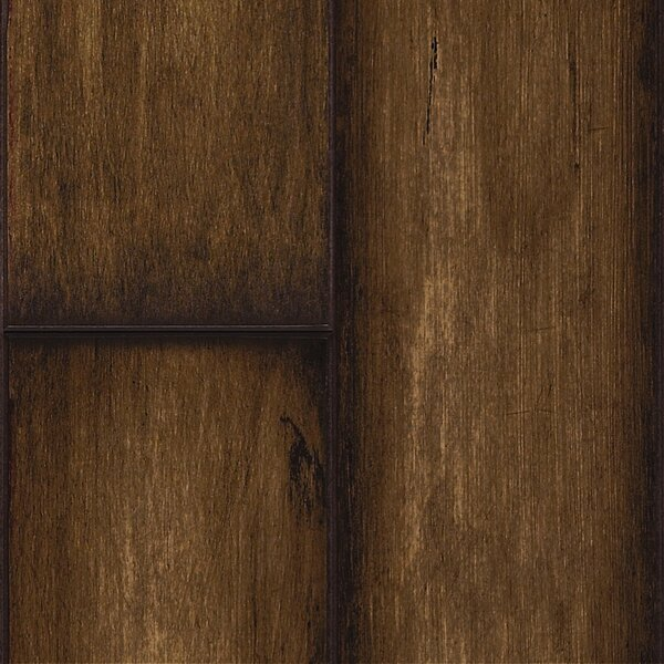 Revolutions 5'' x 51'' x 8mm Maple Laminate Flooring in Weathered Ash by Mannington