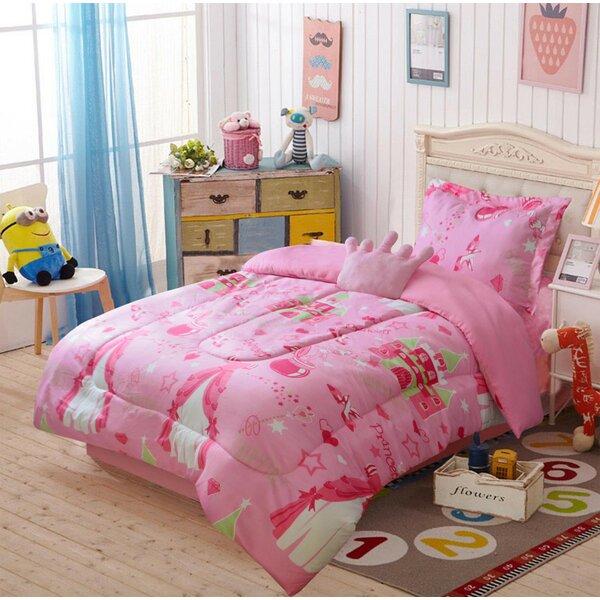 Hemmer Comforter Set by Zoomie Kids