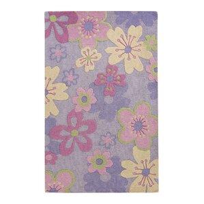 levar handtufted pinkpurple area rug