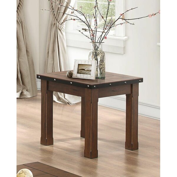 Sloane Wooden End Table by Millwood Pines