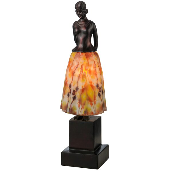 Silhouette Jayne Swayne 16 Table Lamp by Meyda Tiffany