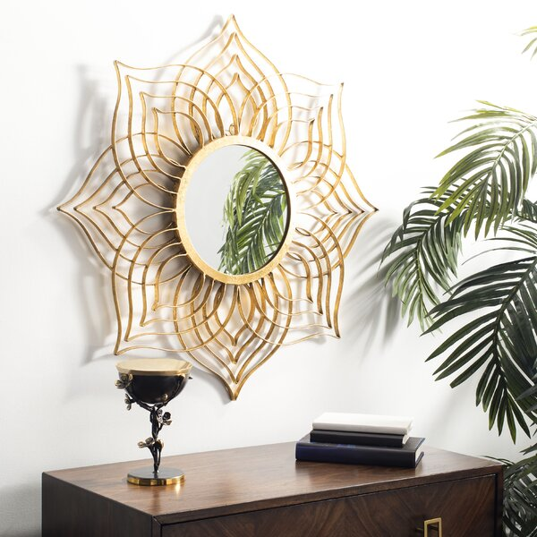 Maryville Accent Mirror by Bungalow Rose