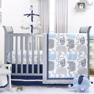 Shop For 4 Piece Crib Bedding Set By The Peanut Shell