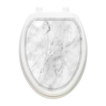 Toilet Tattoos Classic Queen Ann S Toilet Seat Sticker Reviews Wayfair
