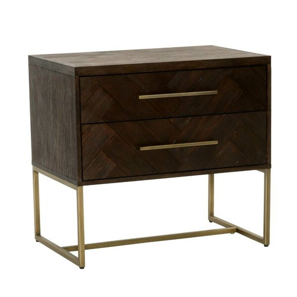 Lahaye Indigo Nightstand by Langley Street