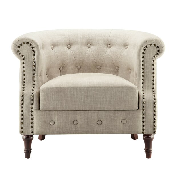 Brookhill Barrel Armchair by Charlton Home Charlton Home