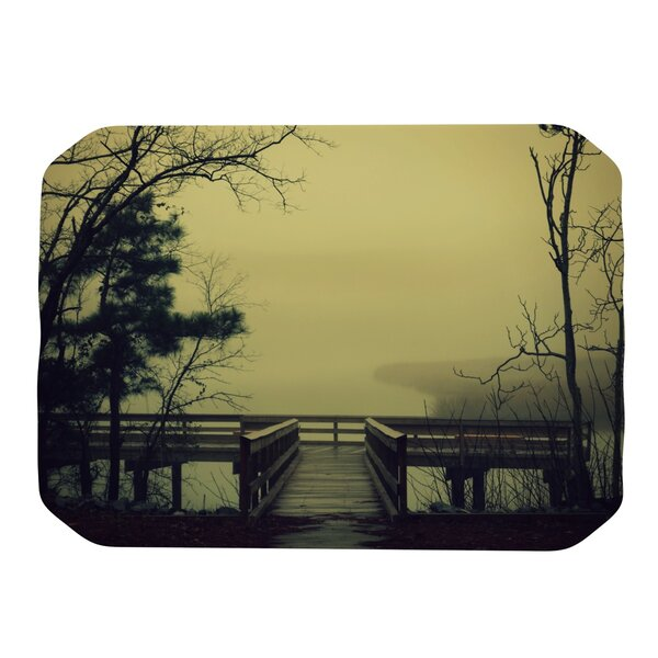 Fog on The River Placemat by KESS InHouse