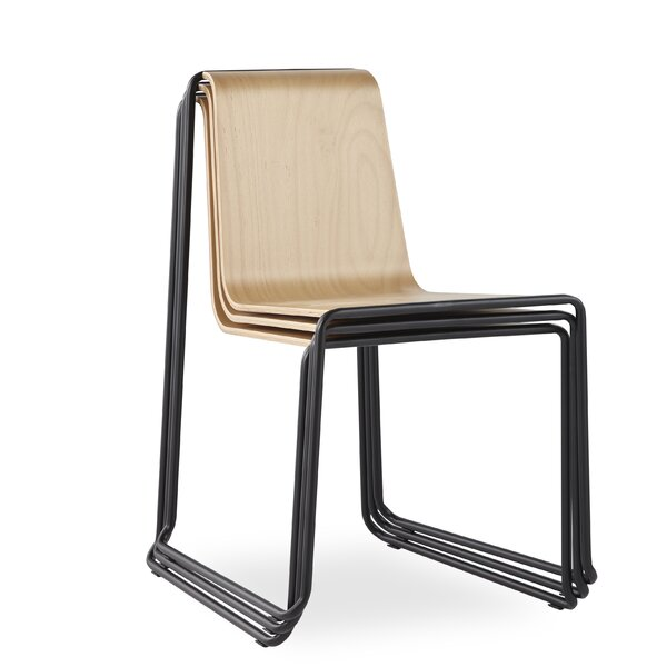 Carncoagh Side Chair In Natural Oak By Ivy Bronx