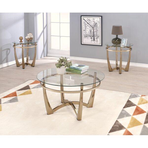 Berton 3 Piece Coffee Table Set by Brayden Studio Brayden Studio